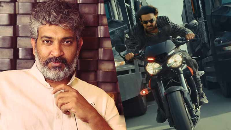Rajamouli gives inputs for Saaho