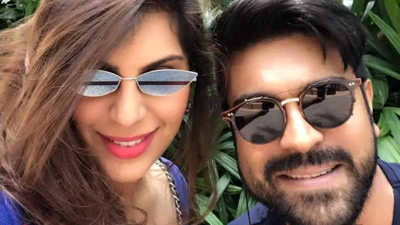 Ram Charan's wife winning the Internet
