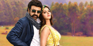 Balakrishna performs shirtless fight stunt!