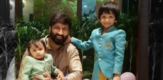 Gopichand with Family